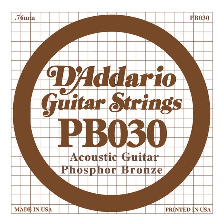 D'Addario Phosphor Bronze DPB-030