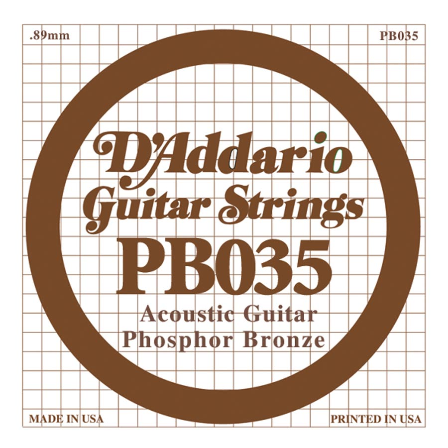 D'Addario Phosphor Bronze DPB-035