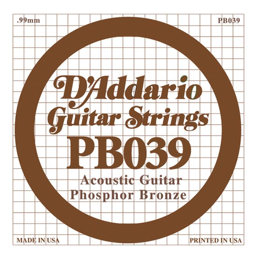 D'Addario Phosphor Bronze DPB-039
