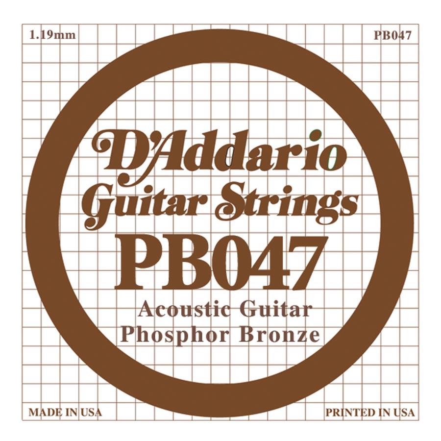 D'Addario Phosphor Bronze DPB-047