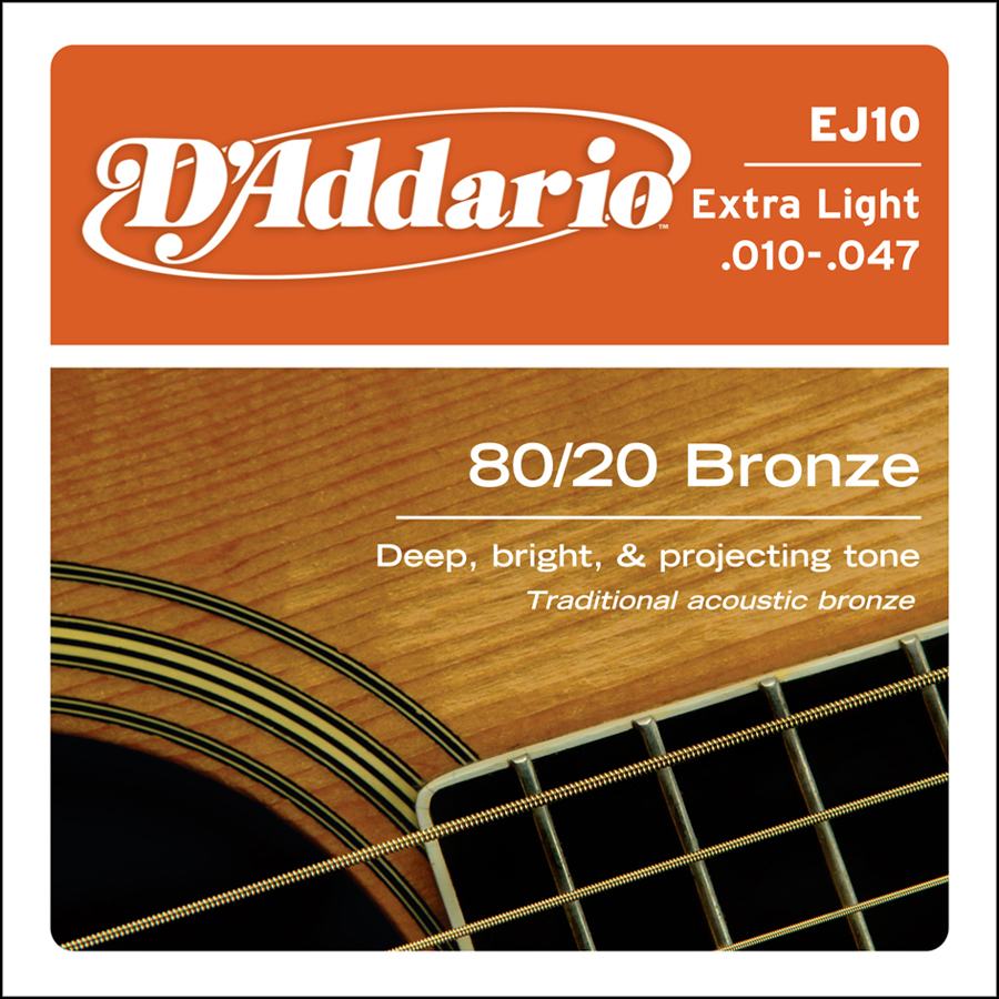 D'Addario Bronze EJ-10