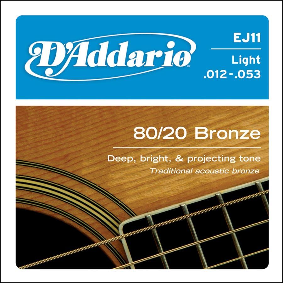 D'Addario  Bronze EJ-11
