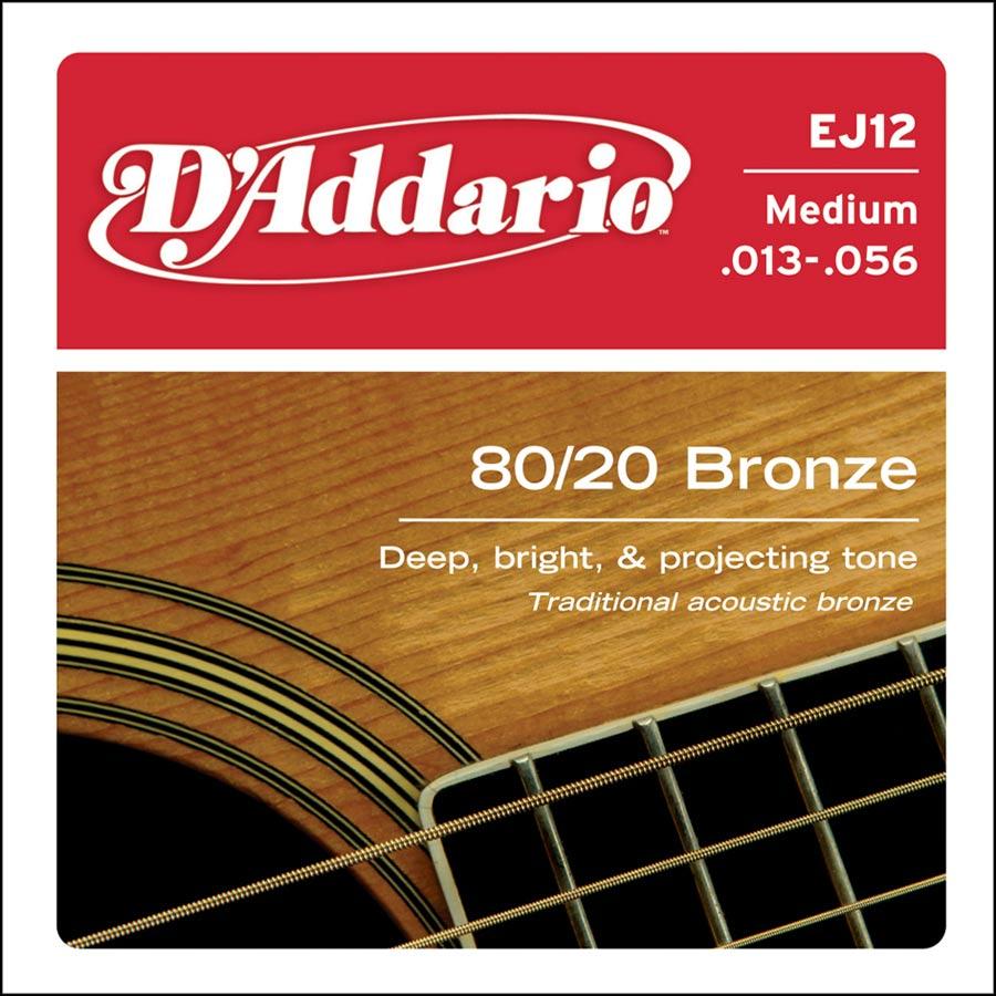 D'Addario Bronze EJ-12