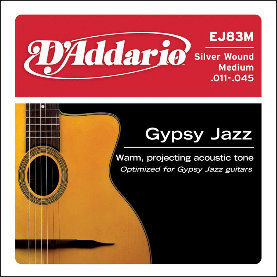 D'Addario Gypsy Jazz EJ83M