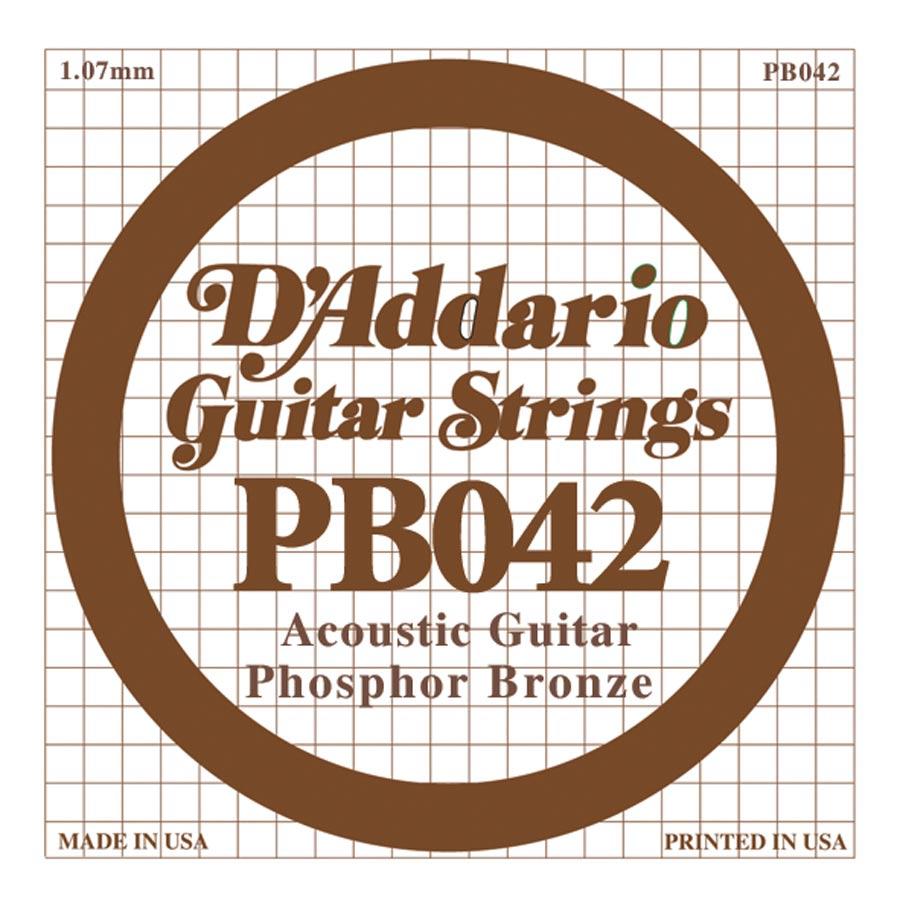D'Addario Phosphor Bronze DPB-042