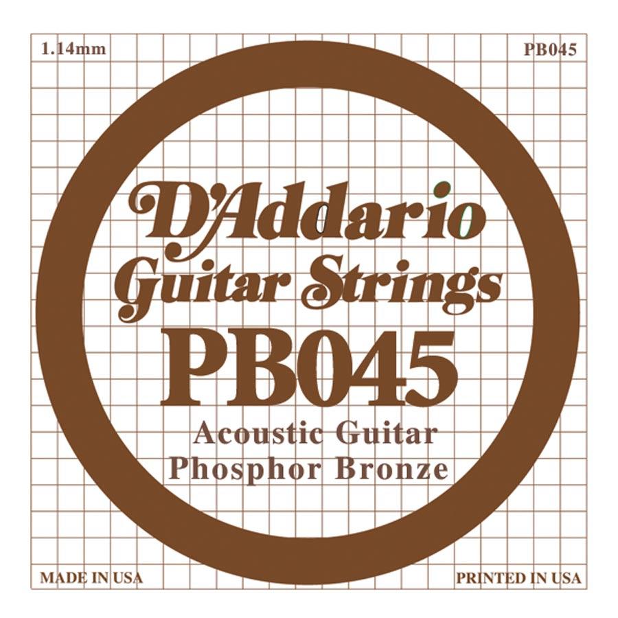 D'Addario Phosphor Bronze DPB-045