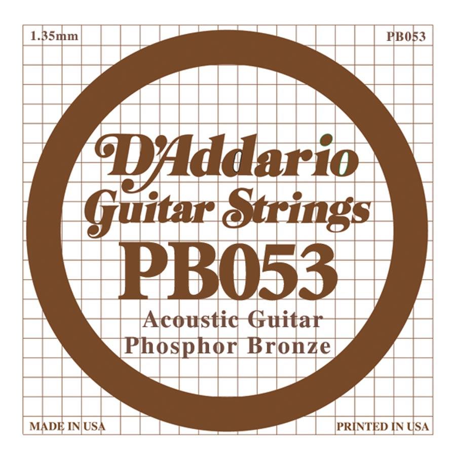 D'Addario Phosphor Bronze DPB-052