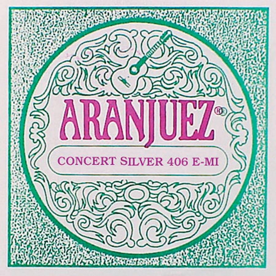 Aranjuez Concert Silver E-6 snaar
