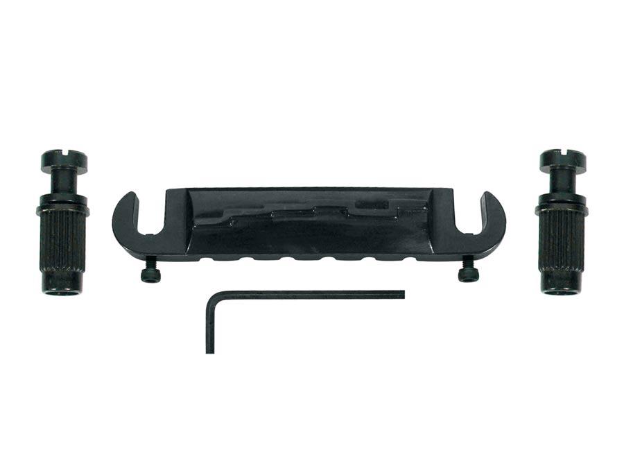 brug-staartstuk, G-model kleur zwart.