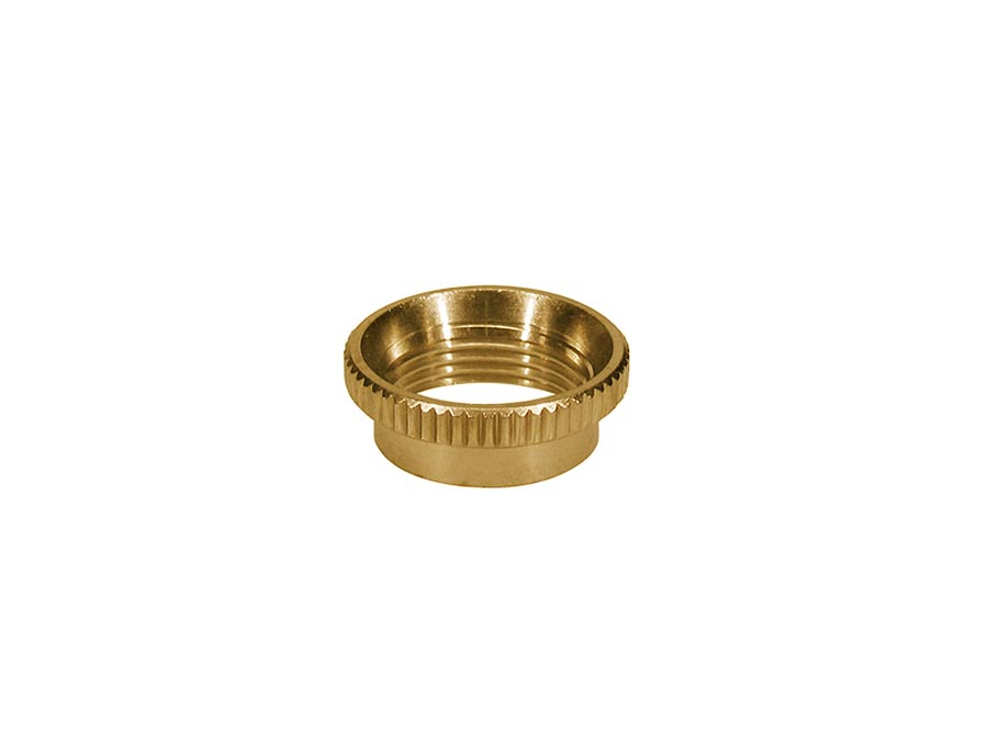 Switchcraft switch nut, deep knurled, for thick top guitars,