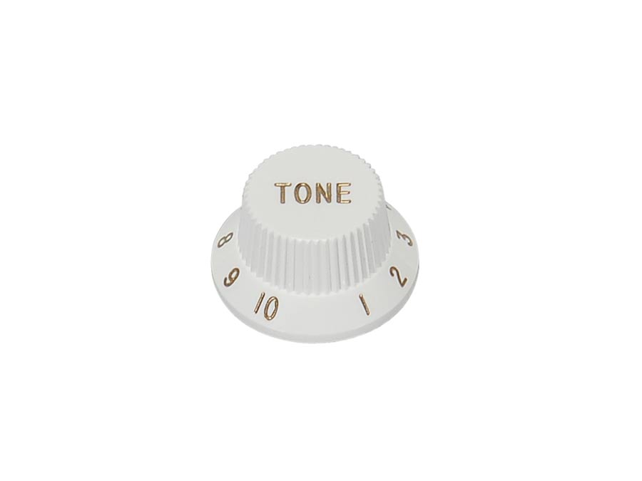 Boston bell knob, Stallion, white, fits both 24 fine (CTS) a