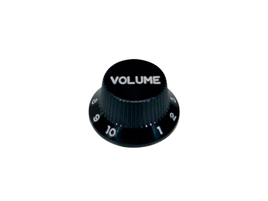 Boston bell knob, Stallion, black, volume