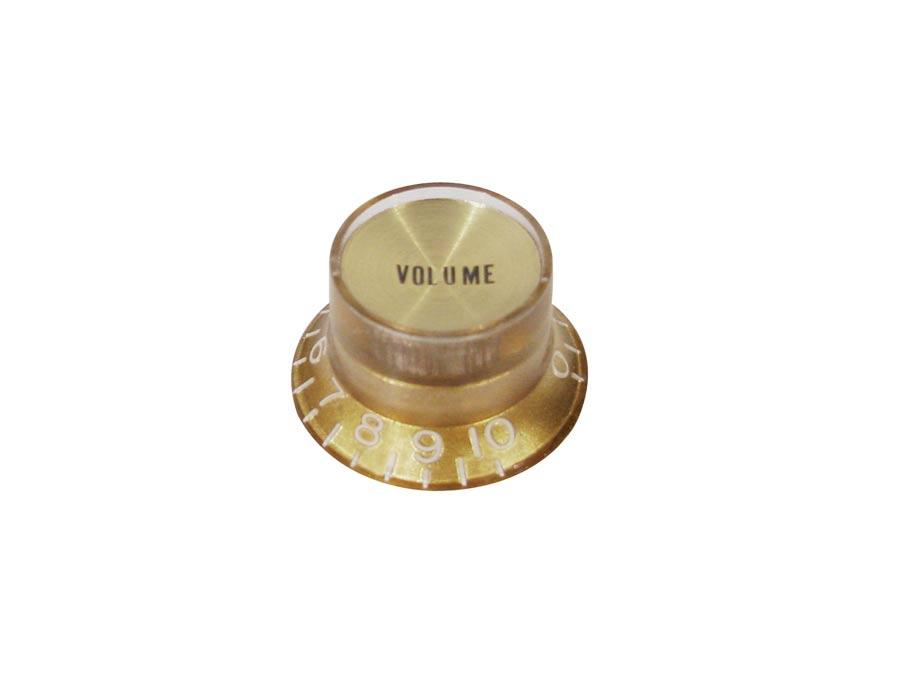 Boston bell knob SG model, gold with gold cap, volume