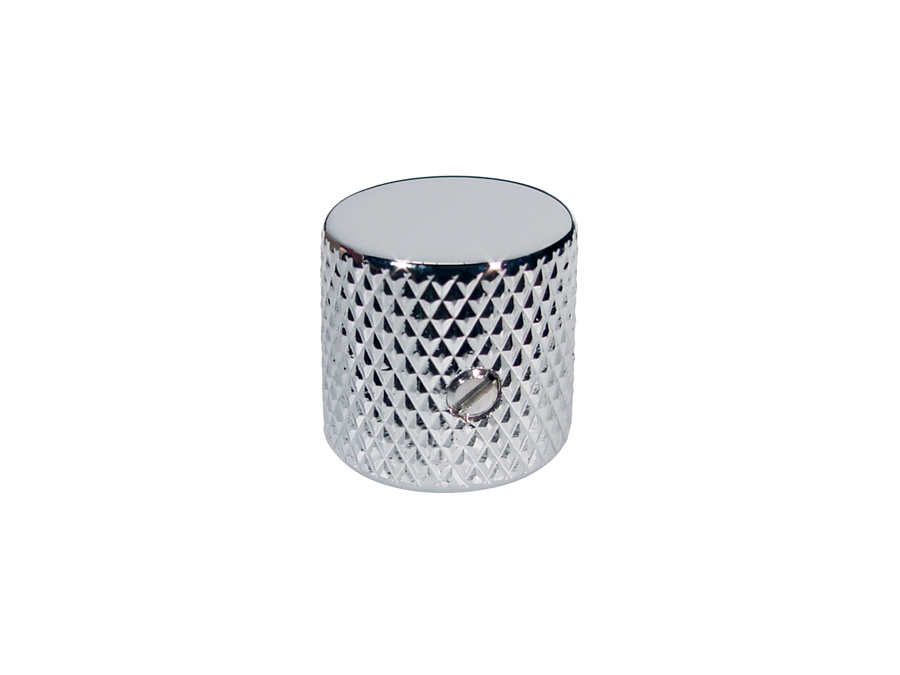 Boston dome knob, metal, diam 19,0mmx19,0mm, with set screw,