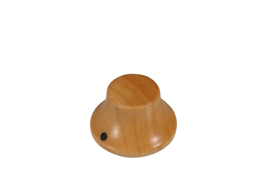 Boston bell knob, wood, Stallion, with pointer, 25x14mm, map