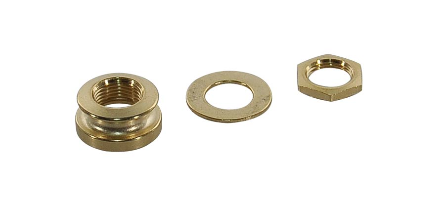 Boston strap button nut, for EPJ models M8 thread, with nut