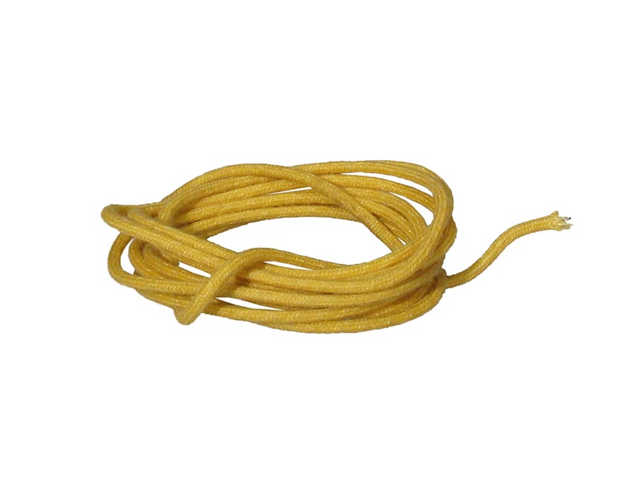 Boston cloth covered wire, vintage style, 1 meter, 18 gauge