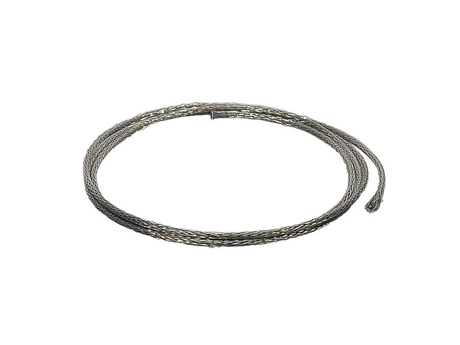 Boston braided shield wire, vintage style, 1 meter, 18 gauge