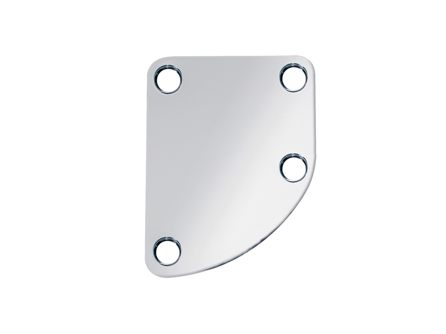 Boston neck mounting plate, 64,5x51,4mm, for contoured body
