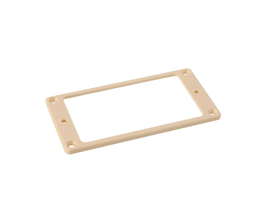 Boston humbucker frame, flat, 3x3mm, ivory