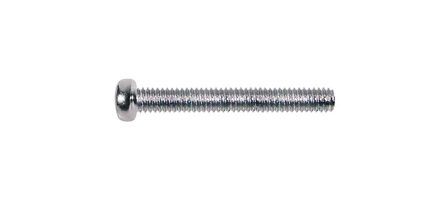 Boston pickup bolt, chrome, 3x20mm, 12pcs, dome head, metric