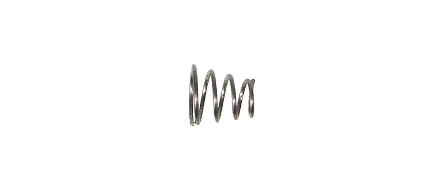 Boston pickup mounting spring, tapered, 12pcs, diam. 8-5mm,