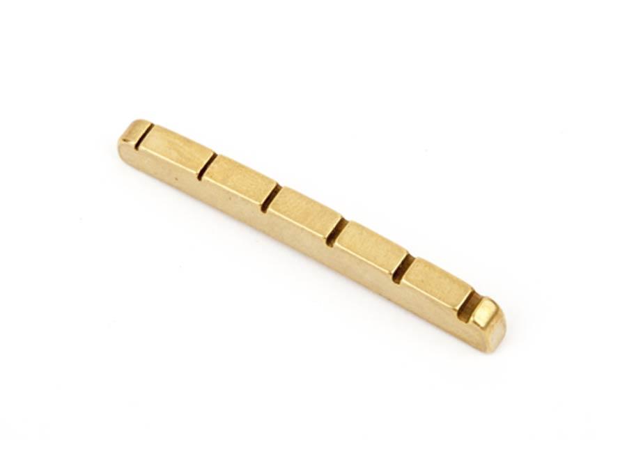 fingerboard nut, Malmsteen Strat, brass
