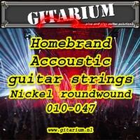 Gitarium huismerk Accoustic 80/20 Bronze 010-047