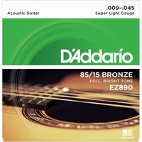 Daddario EZ920 Super  Light American Bronze