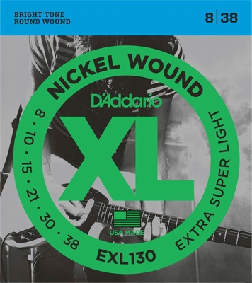 D'Addario XL Nickel Round Wound EXL-130