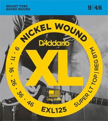 D'Addario XL Nickel Round Wound EXL-125