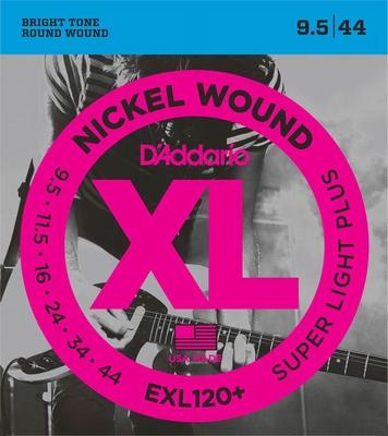 D'Addario XL Nickel Round Wound EXL-120+