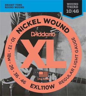 D'Addario XL Nickel Round Wound EXL-110W