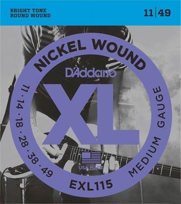 D'Addario XL Nickel Round Wound EXL-115