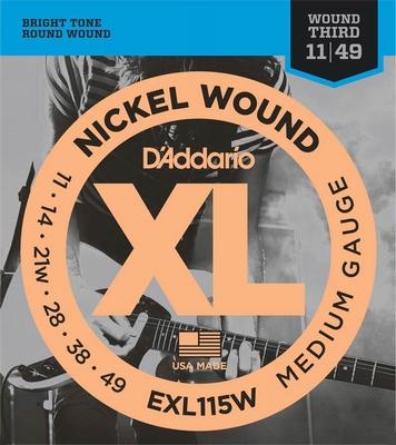 D'Addario XL Nickel Round Wound EXL-115W