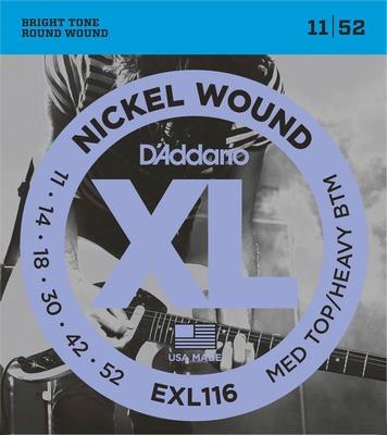 D'Addario XL Nickel Round Wound EXL-116