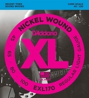 D'Addario XL Nickel Round Wound Bass EXL-170