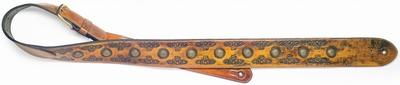 Stagg Gepolsterde lichtbruine gitaarband.