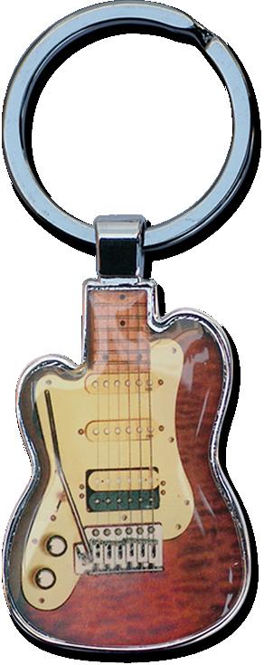 Rock Champ sleutelhager rood