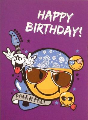 Wenskaart Happy Birthday