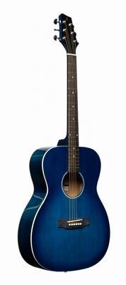 Stagg western gitaar blue