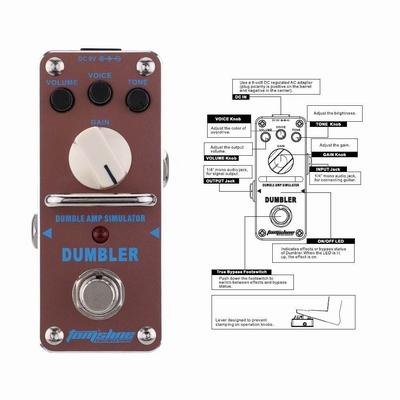 TomsLine Dubler overdrive pedal