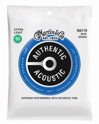 Martin Authentic serie Acoustic bronze snarenset