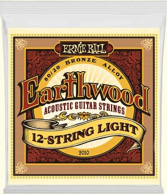 Ernie ball Akoestiche snaren set light 12 strings