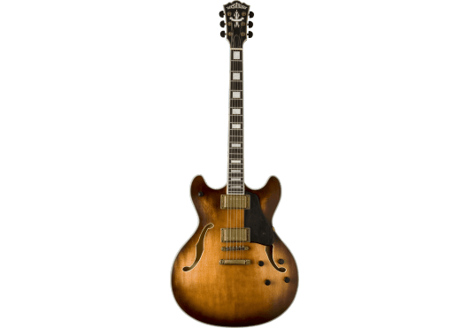 Washburn Electrische gitaar,Hollow Body,Semi hollow