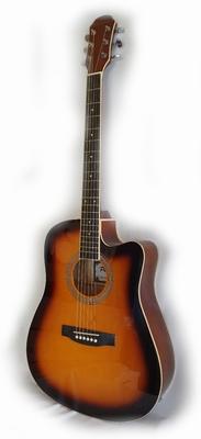 Phoenix wester gitaar cut-away elektrisch.
