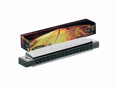 Belcanto tremolo harmonica , 32-tonig, C, ABS
