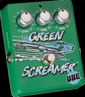 BBE Green screamer distortion pedaal