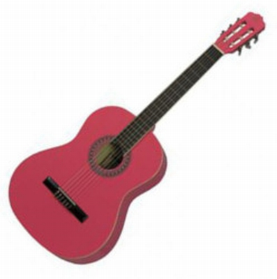 Gomez 036 3/4 klassieke gitaar  PINK