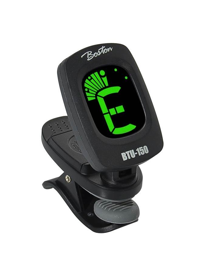 Boston BTU-150 chromatic clip tuner, with multi colour displ